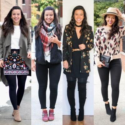 How to build your own capsule wardrobe for Fall + Outfit Ideas