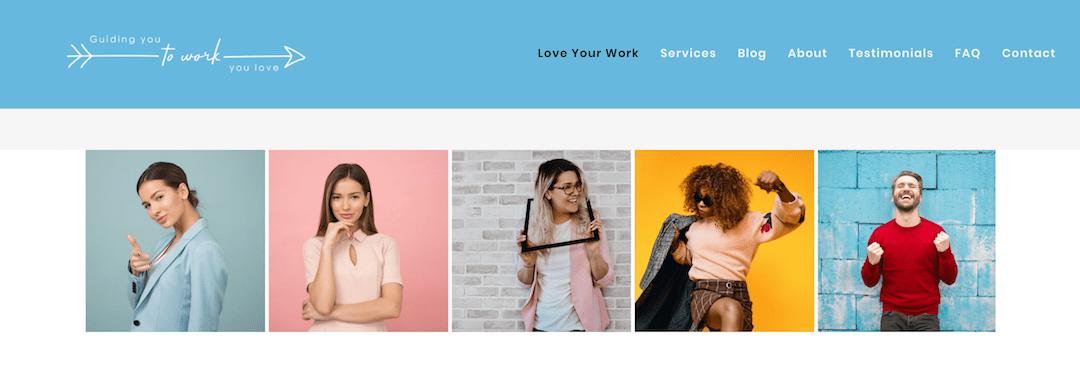 Alison Rakoto – full website makeover