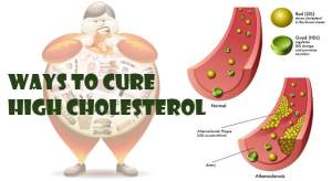 Ways To Cure High Cholesterol