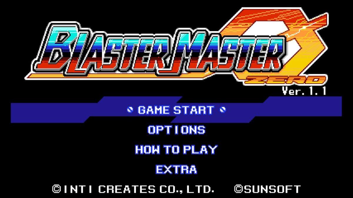 Review - Blaster Master Zero (Switch)