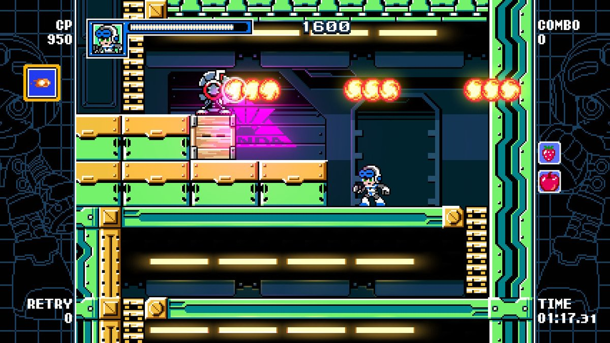 Review - Mighty Gunvolt Burst (Switch)