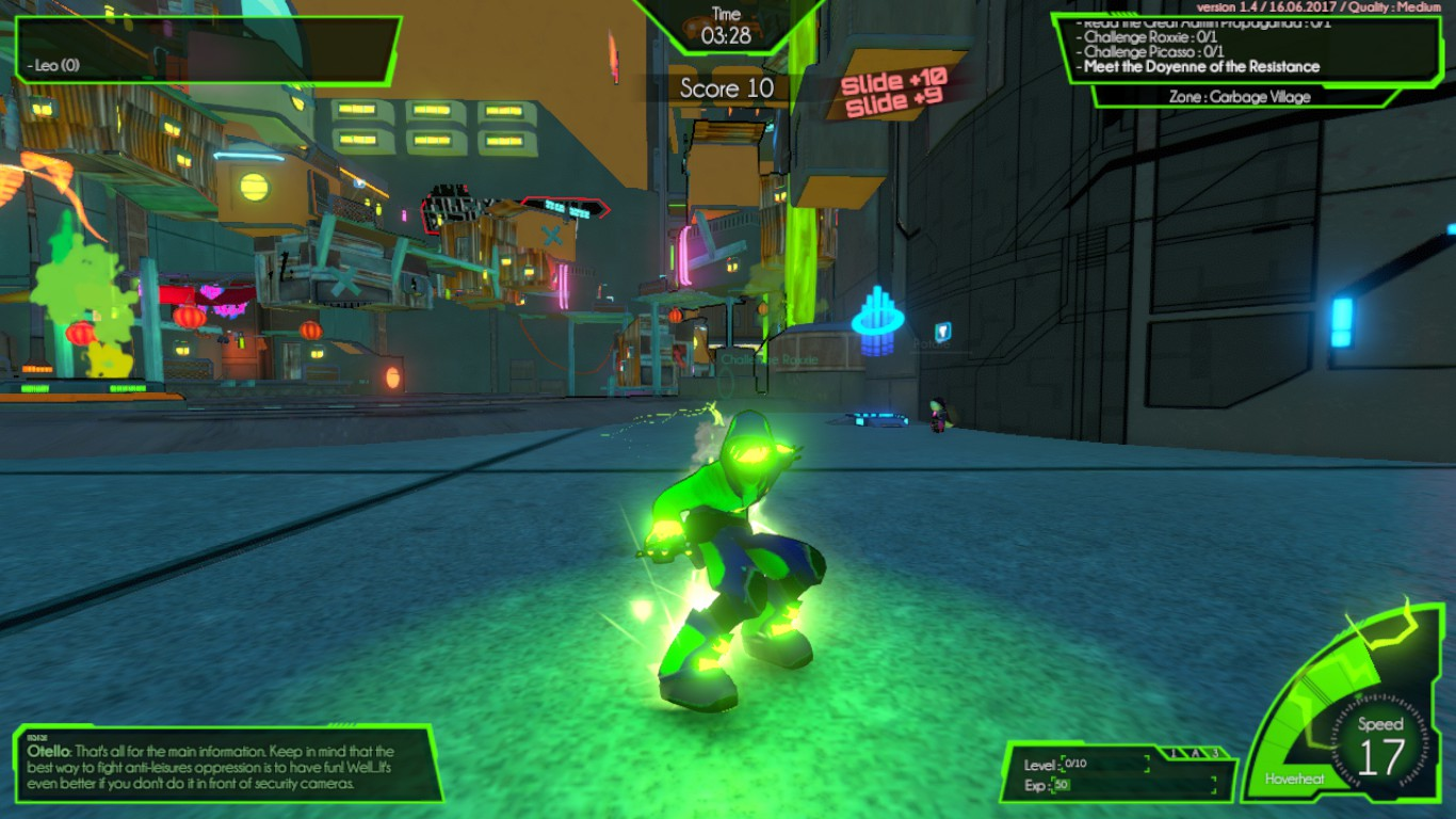 Review - Hover: Revolt of Gamers (PC)