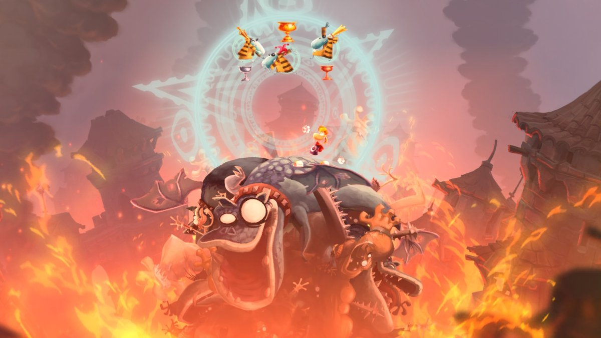 Review - Rayman Legends: Definitive Edition (Switch)