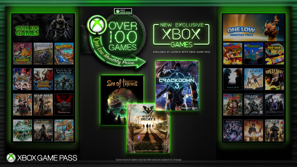 News- Xbox Game Pass Expanded to Include Upcoming titles