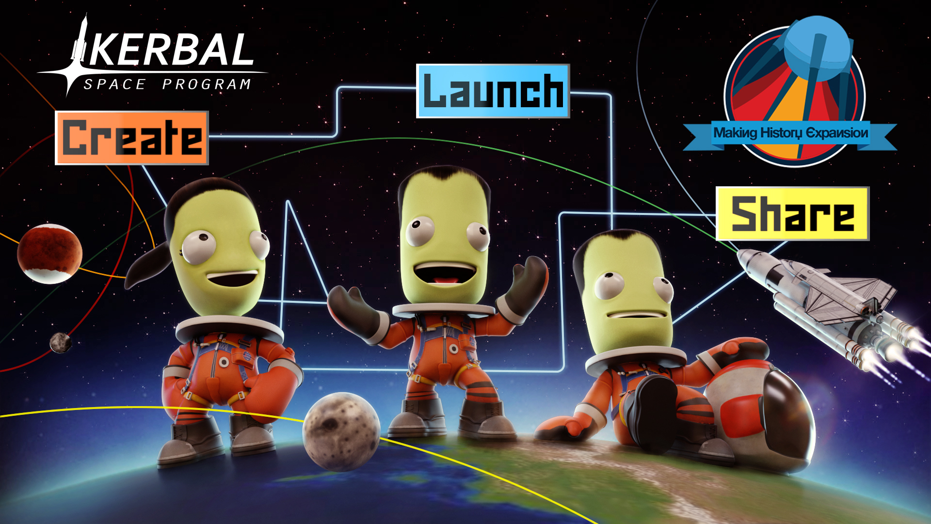 News - Kerbal Space Program: Making History Expansion Release Date