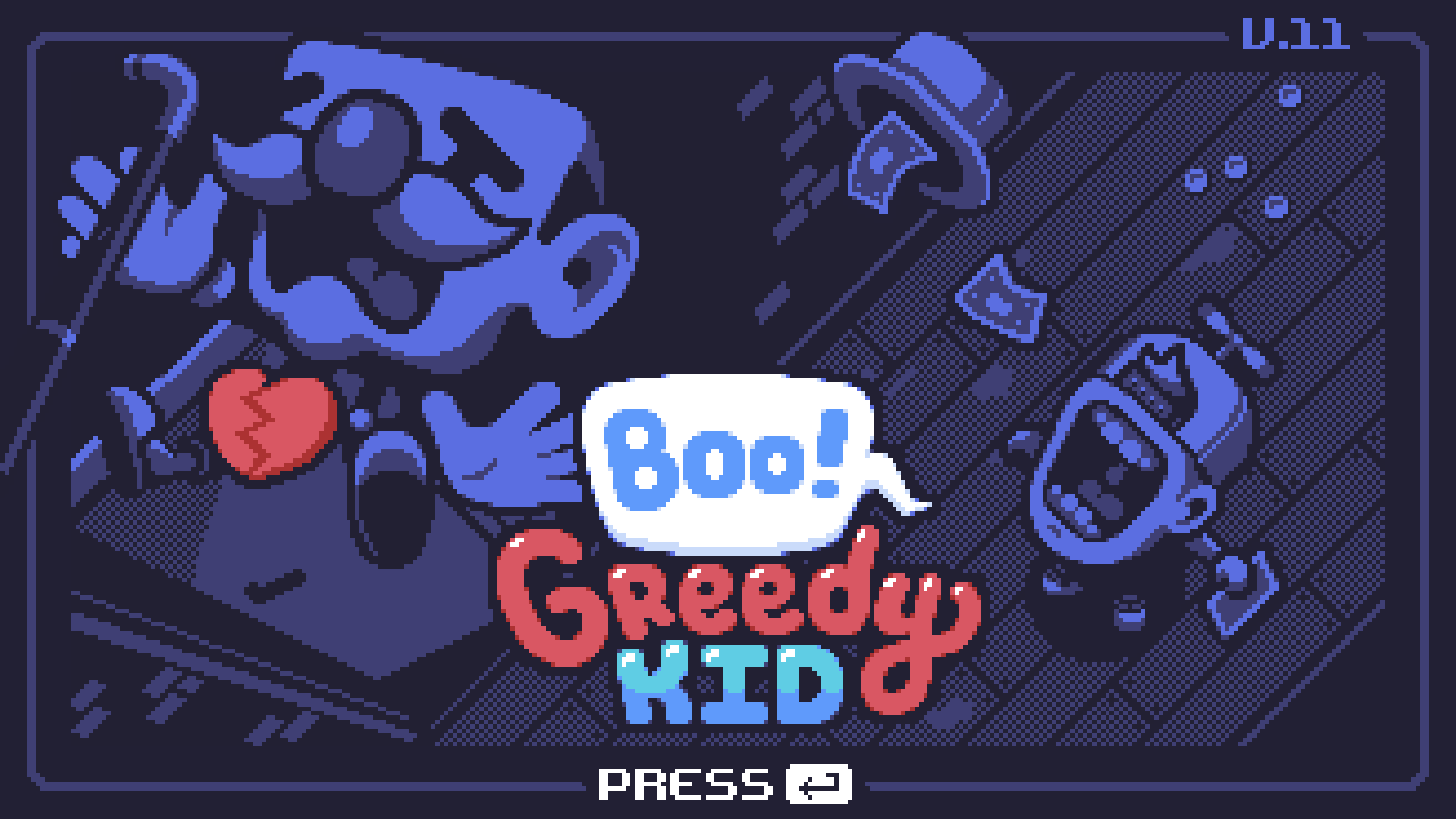 Review - Boo! Greedy Kid (PC)