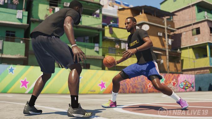 E3 2018 - NBA Live '19