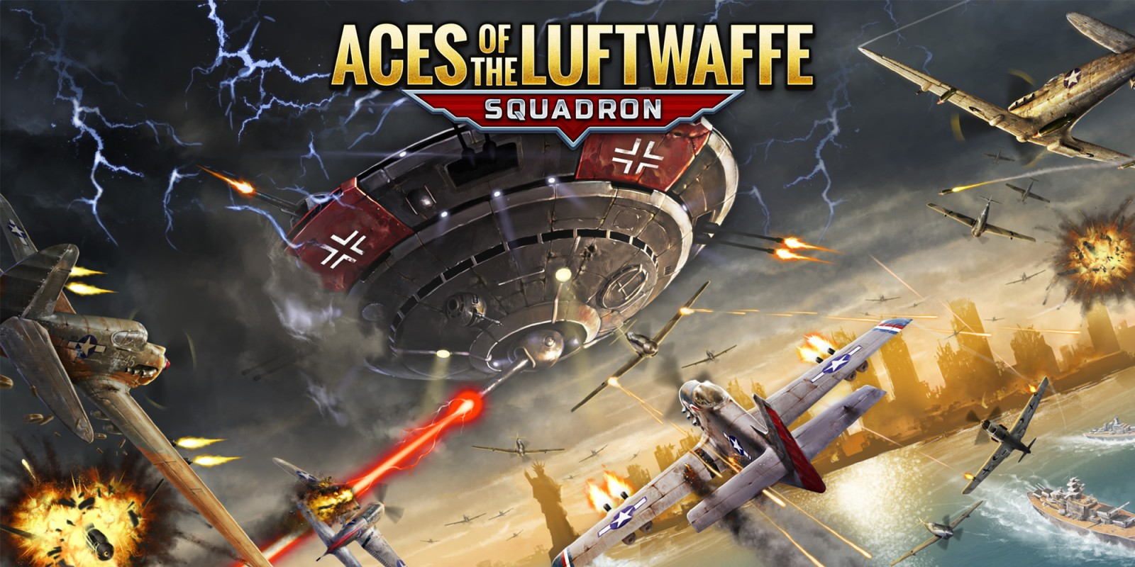 Review - Aces of the Luftwaffe: Squadron (Xbox One)