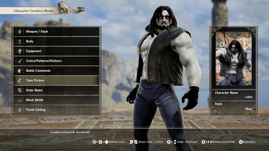 Having Even More Fun With Soul Calibur VI's Character