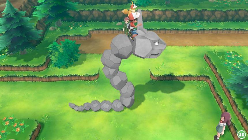 Pokemon stacking