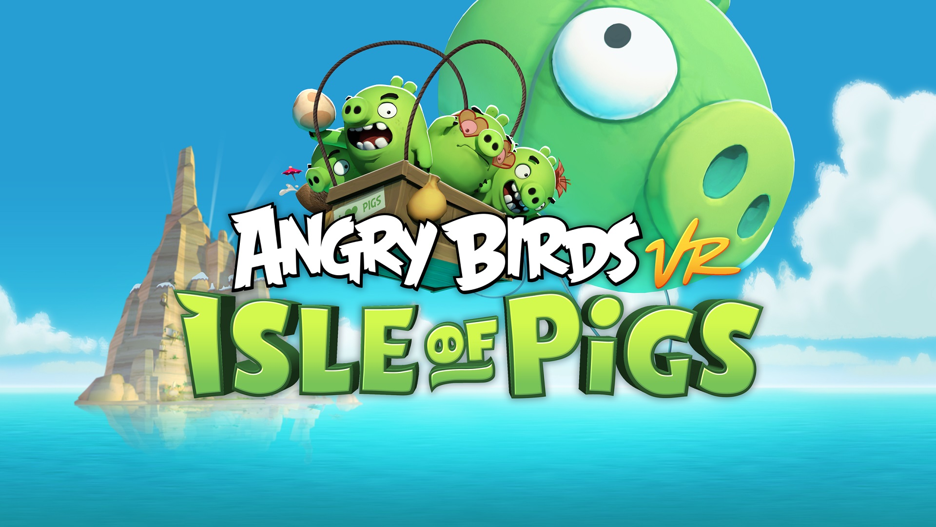 Review - Angry Birds VR: Isle of Pigs - WayTooManyGames