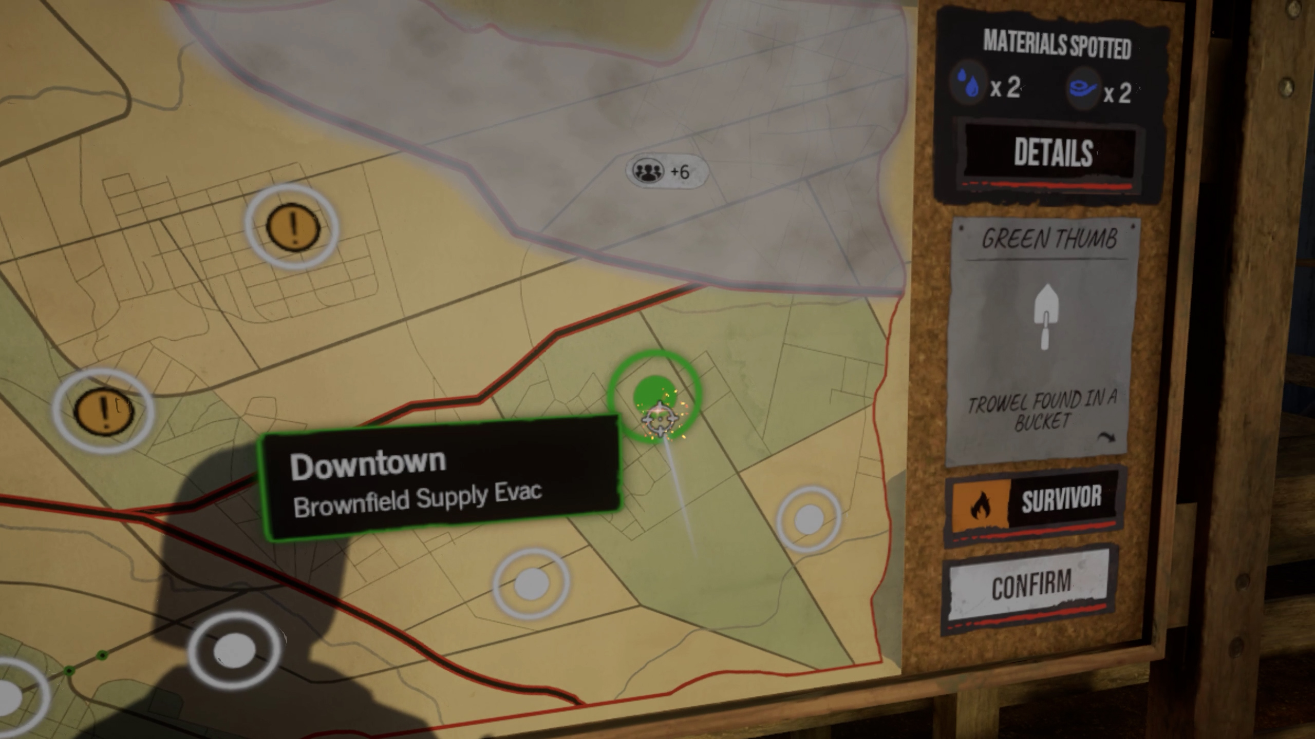 The Walking Dead Onslaught Supply Run Map