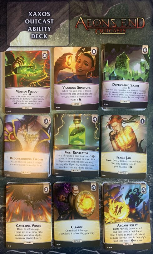 Aeon's End: Outcasts Spell Market