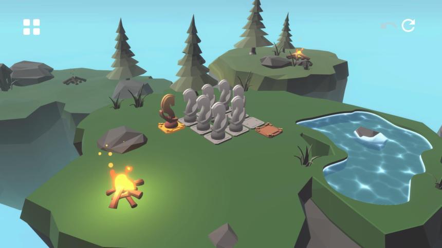 Knight's Retreat Puzzles