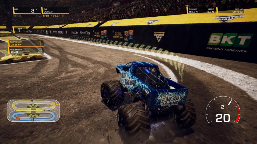 Monster Jam Steel Titans Gameplay