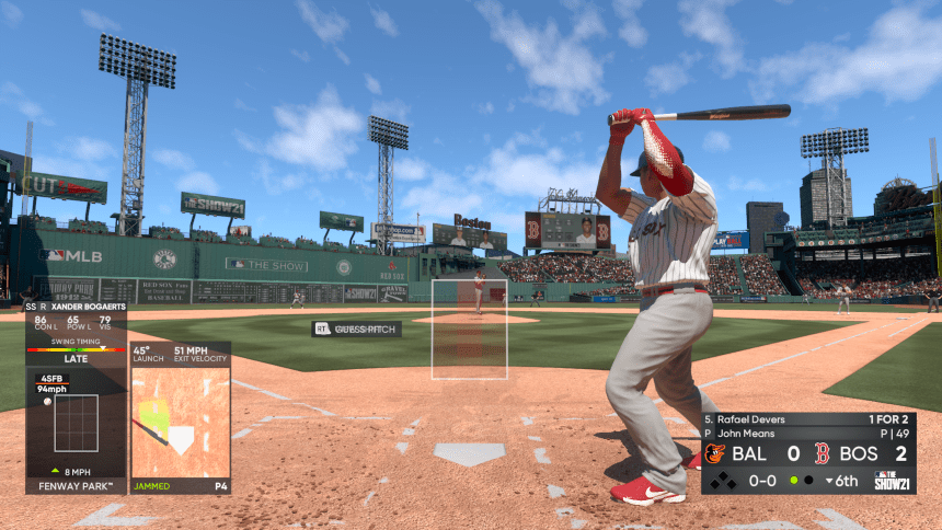 MLB The Show 21 Batting Stance
