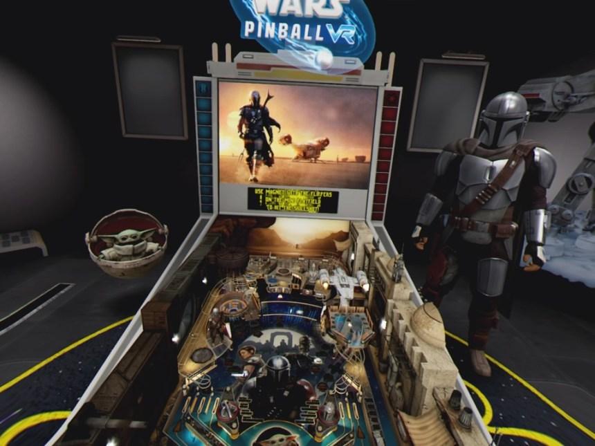 Star Wars Pinball VR Mandalorian