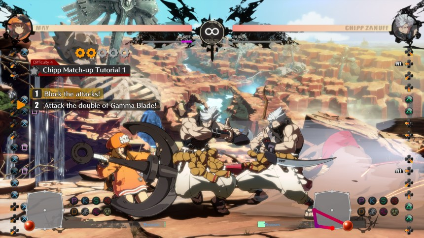 Guilty Gear Strive Mission Mode