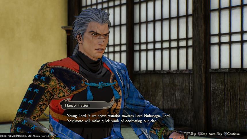 Samurai Warriors 5 Hanzo