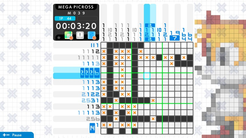 Picross S: Genesis and Master System Edition Touchscreen