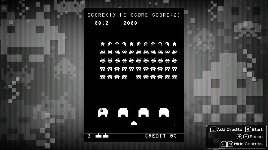 Space Invaders Invincible Collection Retro