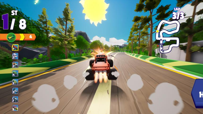 Blaze and the Monster Machines: Axle City Racers Boost