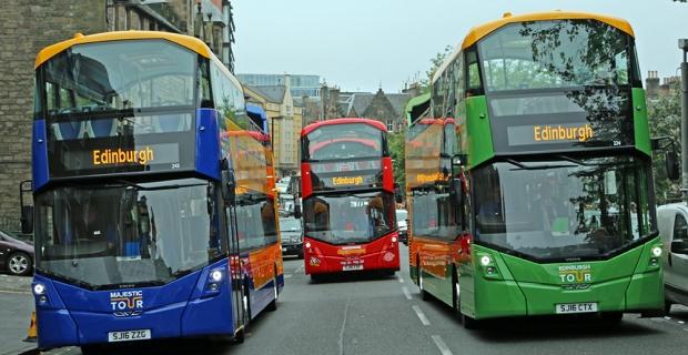 Photo courtesy of Edinburgh Bus Tours