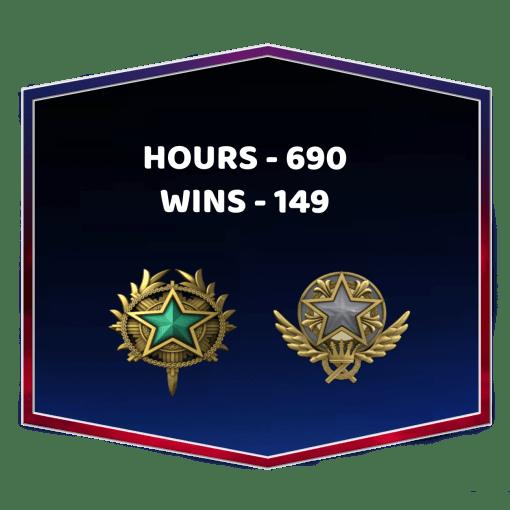 2 Medals CSGO Medals Account