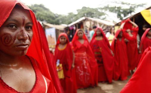 Wayuu Women Wayuu People lombia dancing Younna
