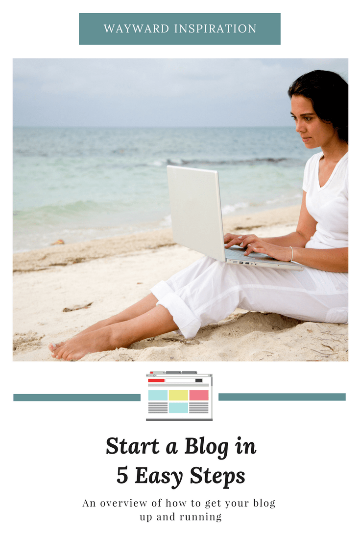 Start a blog in five easy steps