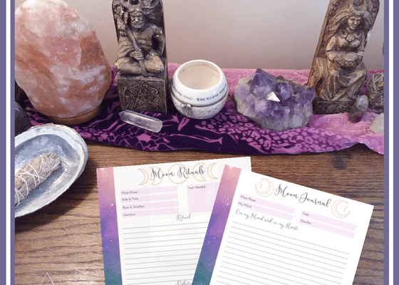 Moon Journaling for Sacred Self-Care