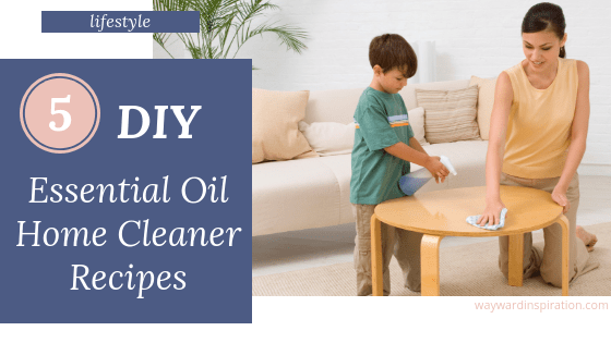 DIY Essential Oil Cleaners