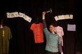 Liberatory T-shirts at Iconocraft (November 2011)