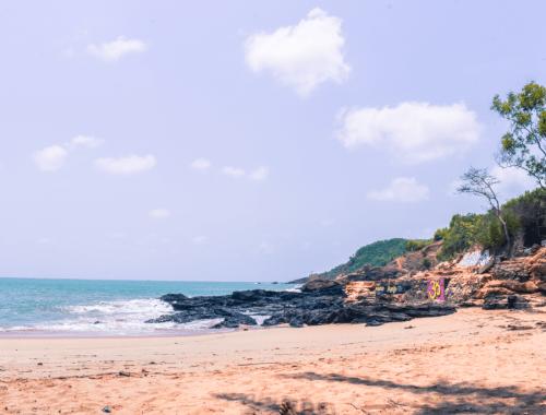 paradise beach gokarna in karnataka
