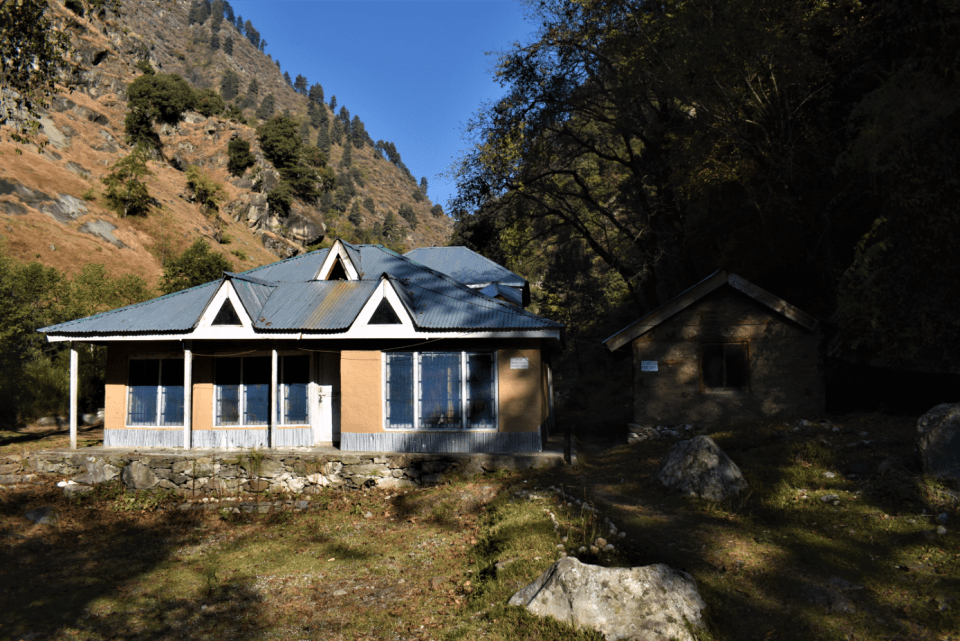 rest house at great himalayan national park