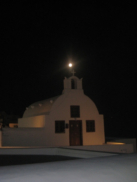 Noite em Oia