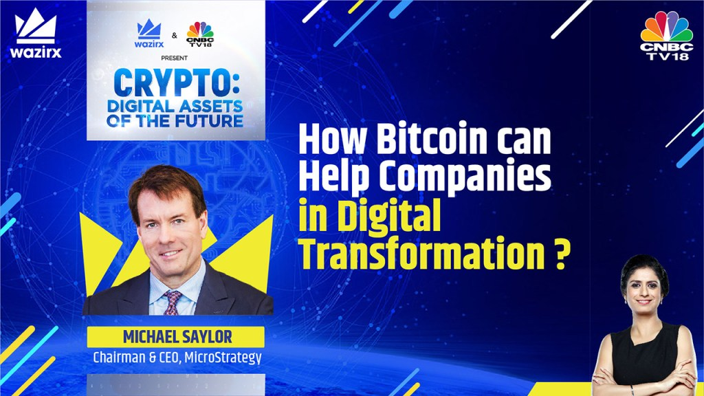 Michael Saylor on How Can Bitcoin Help Companies In Digital Transformation?