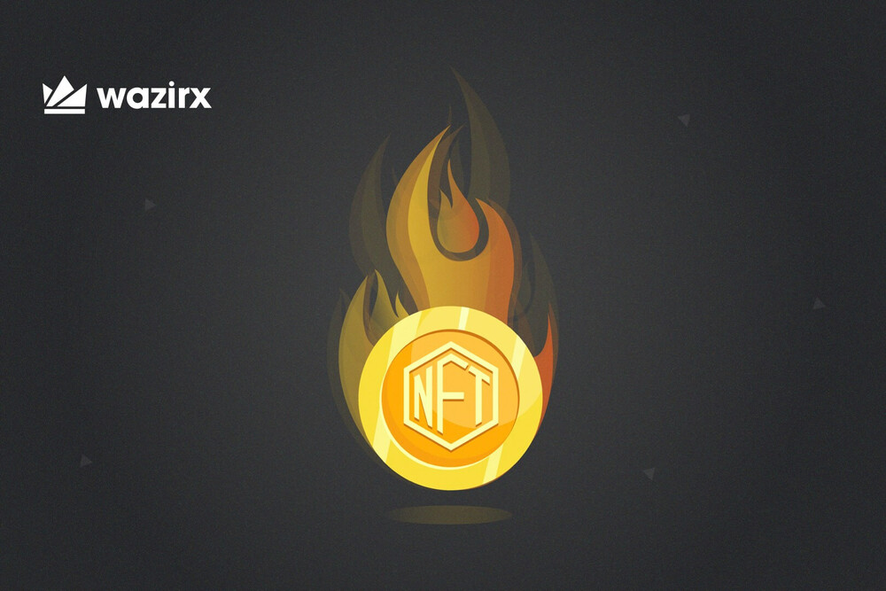 NFT Tokens on Fire