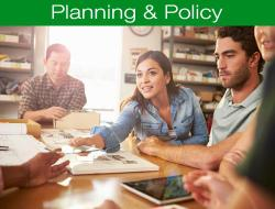 Planning, Policy and PD