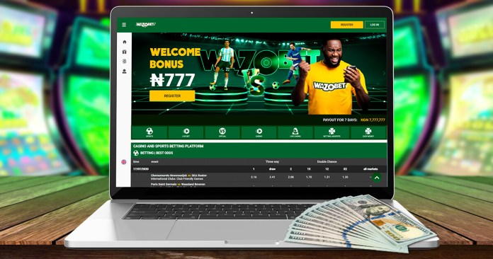 How to create account on Wazobet (2)