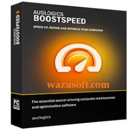 Auslogics BoostSpeed Crack 2022 wazusoft.com