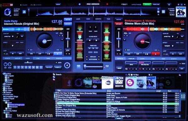 Virtual DJ Pro crack 2022 wazusoft.com