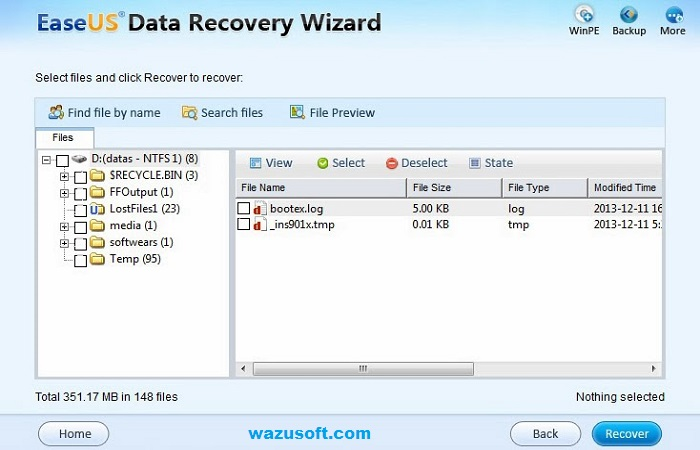 Free Download Data Recovery Software for Windows   - EaseUS