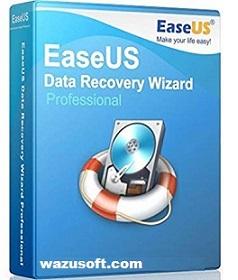 EaseUS Data Recovery Wizard Crack 2022 wazusoft.com