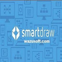 SmartDraw Crack 2022 wazusoft.com