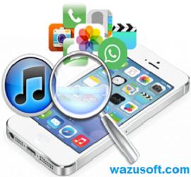 iPhone Backup Extractor Crack 2022 wazusoft.com