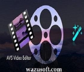 AVS Video Editor Crack 2022 wazusoft.com