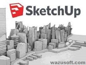 SketchUp Pro Crack 2022 wazusoft.com