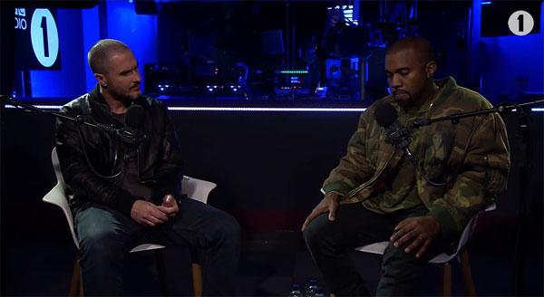Zane Lowe meets Kanye West 2015