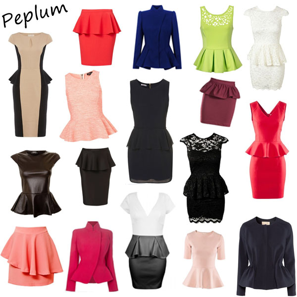 Fashion History the Peplum Trend and How to Wear it